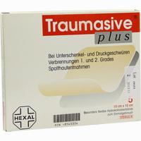 Abbildung von Traumasive Plus 10x10cm 5 Stück
