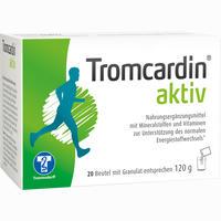 Abbildung von Tromcardin Aktiv Granulat Beutel 20 Stück