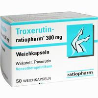 Abbildung von Troxerutin- Ratiopharm 300mg Weichkapseln  50 Stück
