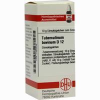 Tuberculinum Bovin D12  Globuli 10 g