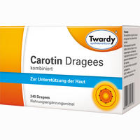 Abbildung von Twardy Carotin Dragees 240 Stück