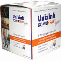 Abbildung von Unizink Kombikraft Flasche 25 x 25 ml