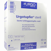 Urgotupfer Pflaumengroß Steril (2+3)   200 Stück