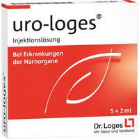 Abbildung von Uro- Loges Injektionslösung Ampullen 5 x 2 ml