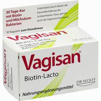 Abbildung von Vagisan Biotin- Lacto Kapseln 30 Stück