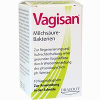Abbildung von Vagisan Milchsäure- Bakterien Vaginalkapseln 10 Stück