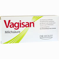 Vagisan Milchsäure Vaginalzäpfchen   14 ST
