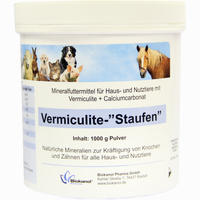 Vermiculite-staufen Vet.  Pulver 1000 G