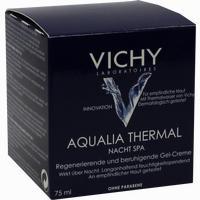Abbildung von Vichy Aqualia Thermal Nacht Spa Creme 75 ml