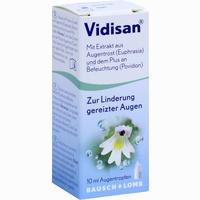 Abbildung von Vidisan Augentropfen 10 ml