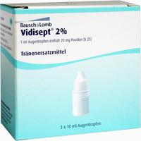 Abbildung von Vidisept 2% Augentropfen 3 x 10 ml