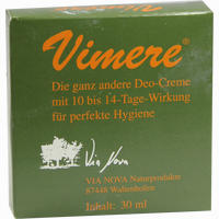 Abbildung von Vimere Deo Creme  30 ml