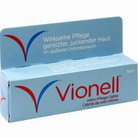 Abbildung von Vionell Intim- Pflege- Salbe  15 ml