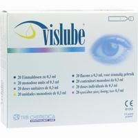Abbildung von Vislube Einmaldosen 20 x 0.3 ml