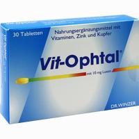 Vit-ophtal Mit 10 Mg Lutein  Tabletten 30 Stück