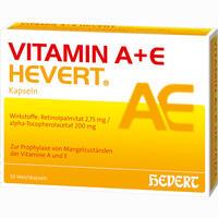 Abbildung von Vitamin A+e Hevert Kapseln  50 Stück