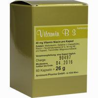Vitamin B 3 Aartemarys  Kapseln 60 Stück
