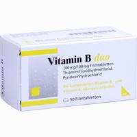 Vitamin B Duo  Filmtabletten 50 Stück