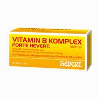 Vitamin B-komplex Forte Hevert  Tabletten 50 Stück
