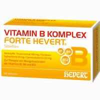 Vitamin B-komplex Forte Hevert  Tabletten 100 Stück