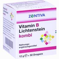 Vitamin B Lichtenstein Kombi  Dragees 50 Stück