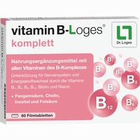 Vitamin B-loges Komplett  Filmtabletten 60 Stück