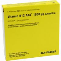 Abbildung von Vitamin B12 Aaa 1000ug Ampullen  5 x 1 ml