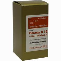 Abbildung von Vitamin B12 + B6 + Folsäure Komplex N  Kapseln 120 Stück