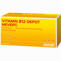 Vitamin B12 Depot Hevert  Ampullen 50 Stück