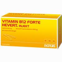 Vitamin B12 Forte Hevert Injekt  Ampullen 50X2 ml