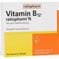 Vitamin-b12-ratiopharm N  Ampullen 5X1 ml