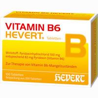 Abbildung von Vitamin B6- Hevert Tabletten 200 Stück