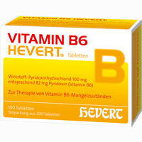 Vitamin B6-hevert  Tabletten 200 Stück