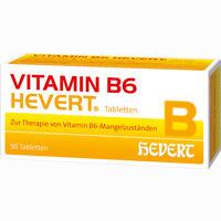 Vitamin B6 Hevert  Tabletten 50 Stück