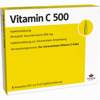 Vitamin C 500  Ampullen 5X5 ml