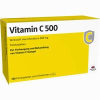 Vitamin C 500  Filmtabletten 100 Stück