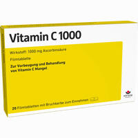 Vitamin C1000 Filmtabletten 20 Stück