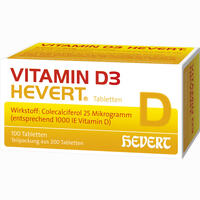 Vitamin D3-hevert Tabletten 200 Stück