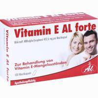 Vitamin E Al Forte  Kapseln 100 Stück