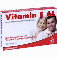 Vitamin E Al  Kapseln 50 Stück