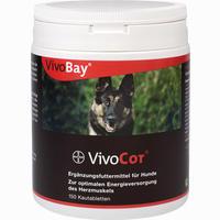 Abbildung von Vivibay Vivocor für Hunde Vet. Tabletten 150 Stück