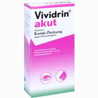 Vividrin Akut Azelastin Kombipackung Gegen Heuschnupfen  1 Packung