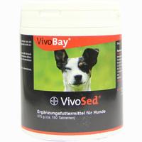 Abbildung von Vivobay Vivosed für Hunde Vet. Kautabletten 150 Stück