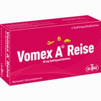 Abbildung von Vomex A Reise 50 Mg Sublingualtabletten  4 Stück