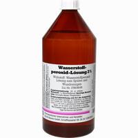 Abbildung von Wasserstoffperoxid 3%  1000 ml