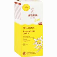 Abbildung von Weleda Edelweiss Sonnencreme Gesicht Lsf 30 50 ml