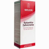 Abbildung von Weleda Ratanhia- Zahncreme  75 ml