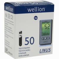 Wellion Linus Blutzuckerteststreifen   50 Stück