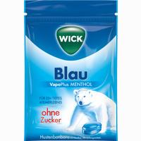 Wick Blau Ohne Zucker  Bonbon 72 g