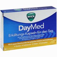 Wick Daymed Erkältungskapseln  20 Stück